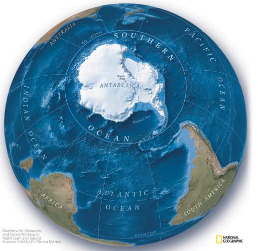 Trái đất vừa có thêm một đại dương mới, mang tên Nam Đại Dương - Ảnh 1.