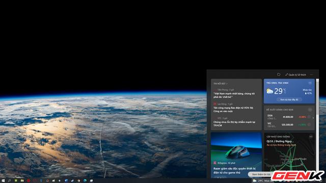 Cách kích hoạt và vô hiệu hoá tính năng News and Interests tự nhiên xuất hiện trên Windows 10 - Ảnh 1.