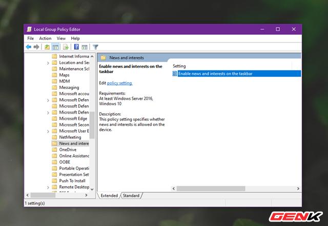 Cách kích hoạt và vô hiệu hoá tính năng News and Interests tự nhiên xuất hiện trên Windows 10 - Ảnh 8.