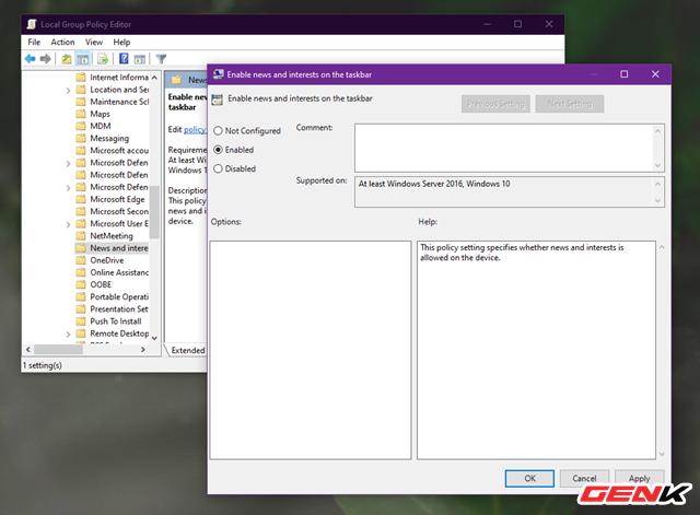 Cách kích hoạt và vô hiệu hoá tính năng News and Interests tự nhiên xuất hiện trên Windows 10 - Ảnh 9.
