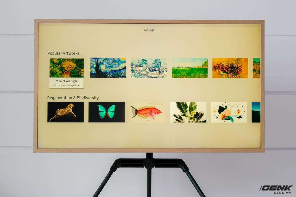 Đập thùng TV Samsung The Frame 2021 43 inch: Rất phù hợp không gian Minimalist, hơn 1.400 khung tranh nghệ thuật, tự lắp đặt không hề khó - Ảnh 18.