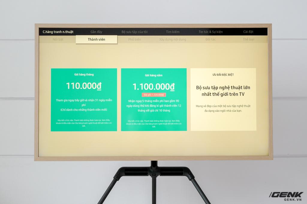 Đập thùng TV Samsung The Frame 2021 43 inch: Rất phù hợp không gian Minimalist, hơn 1.400 khung tranh nghệ thuật, tự lắp đặt không hề khó - Ảnh 19.