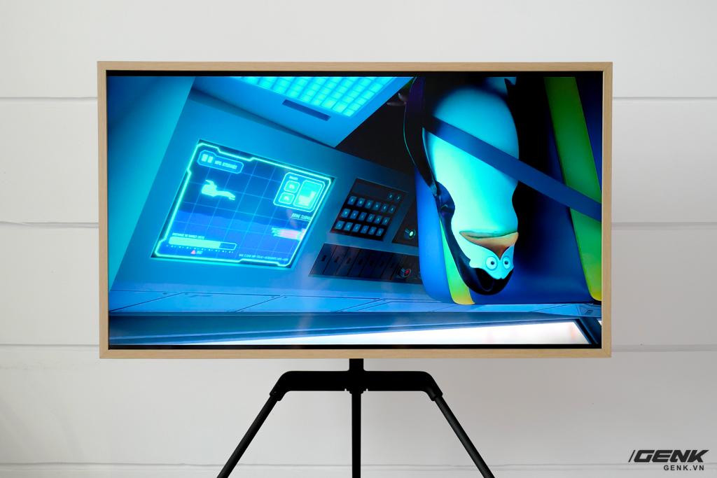 Đập thùng TV Samsung The Frame 2021 43 inch: Rất phù hợp không gian Minimalist, hơn 1.400 khung tranh nghệ thuật, tự lắp đặt không hề khó - Ảnh 17.