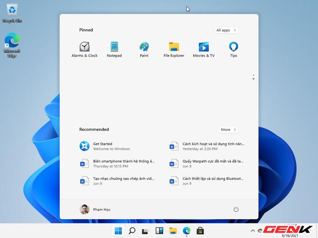 Trải nghiệm nhanh phiên bản Windows 11 Dev Preview vừa bị rò rỉ : là phiên bản hoàn chỉnh của Windows 10X - Ảnh 16.