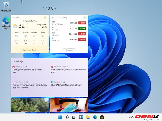 Trải nghiệm nhanh phiên bản Windows 11 Dev Preview vừa bị rò rỉ : là phiên bản hoàn chỉnh của Windows 10X - Ảnh 20.