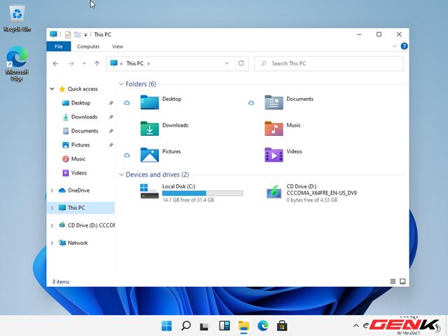Trải nghiệm nhanh phiên bản Windows 11 Dev Preview vừa bị rò rỉ : là phiên bản hoàn chỉnh của Windows 10X - Ảnh 21.