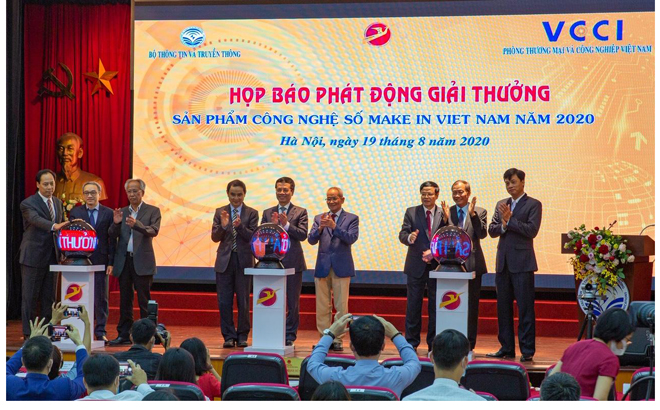 """Giải thưởng """"Sản phẩm Công nghệ số Make in Viet Nam"""" năm 2021 sắp được phát động - Ảnh 2."""