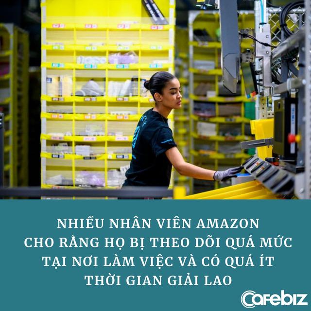 Bóc trần sự thật làm việc như mơ ở Amazon: Nhân viên bị kiểm soát 24/24 vì Jeff Bezos tin rằng 'ai rồi cũng lười thôi' - Ảnh 2.