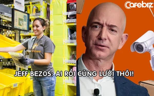 Bóc trần sự thật làm việc như mơ ở Amazon: Nhân viên bị kiểm soát 24/24 vì Jeff Bezos tin rằng 'ai rồi cũng lười thôi' - Ảnh 1.