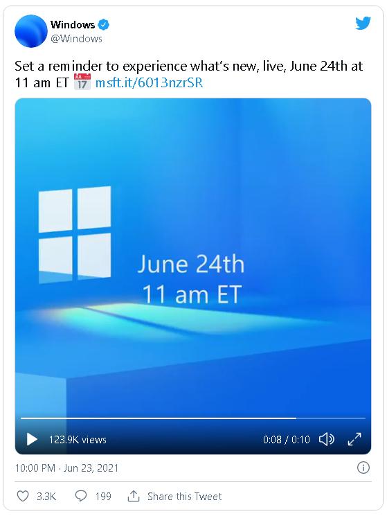 Microsoft ra mắt teaser trước sự kiện đêm nay, tiết lộ Windows 11 có thể sẽ tập trung vào trải nghiệm cảm ứng - Ảnh 2.