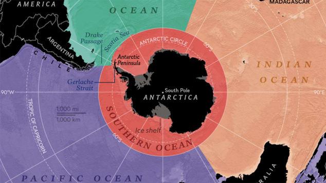National Geographic đưa đại dương thứ 5 của trái đất lên bản đồ - Ảnh 2.