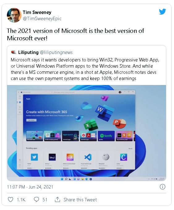 Microsoft cho phép nhà phát triển ứng dụng giữ toàn bộ doanh thu, không thu một đồng phí nào - Ảnh 2.