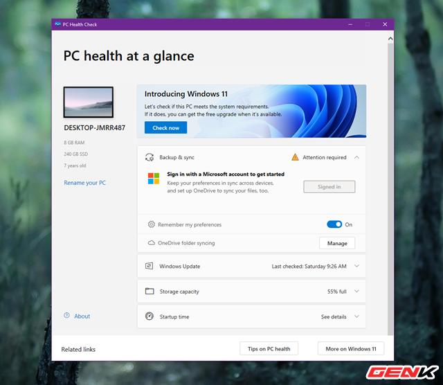 Cách kiểm tra xem máy tính của mình có đủ khả năng cài đặt Windows 11 hay không - Ảnh 6.