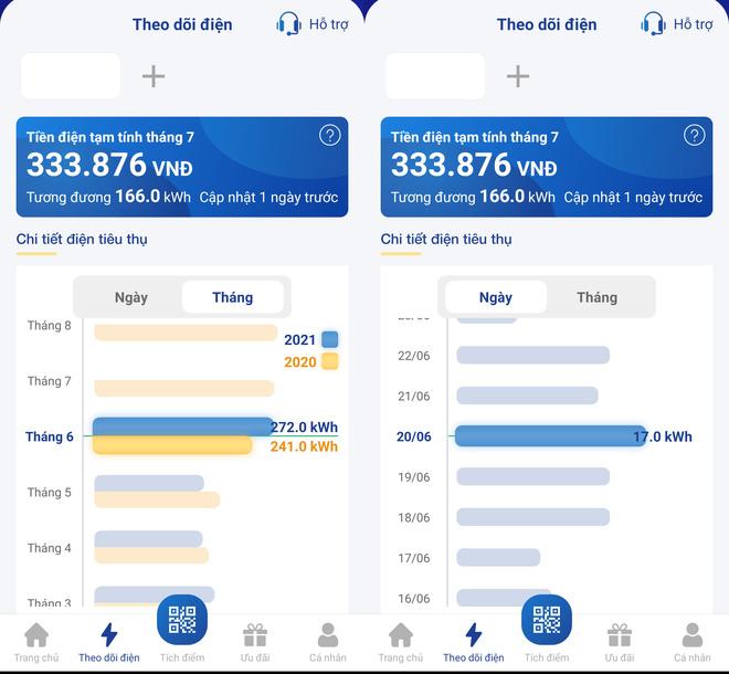 Nắng nóng kéo dài, dân Hà Nội và TP HCM đua nhau cài app theo dõi tiền điện: Dùng bao nhiêu biết bấy nhiêu, không cần công tơ điện tử - Ảnh 2.
