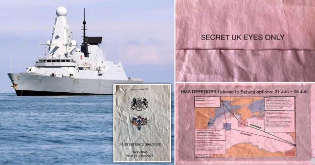 Tài liệu quân sự tuyệt mật của Vương quốc Anh bị bỏ ở bến xe buýt trong tình trạng ướt sũng như giấy lộn - Ảnh 1.