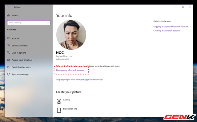 Dùng Windows 10 đã lâu, liệu bạn có biết cách thay đổi mật khẩu đăng nhập hay chưa? - Ảnh 3.