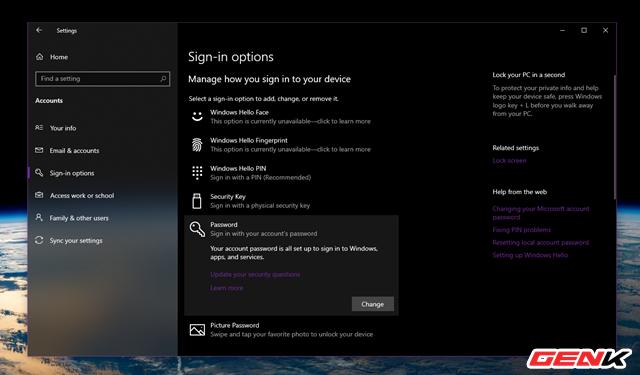 Dùng Windows 10 đã lâu, liệu bạn có biết cách thay đổi mật khẩu đăng nhập hay chưa? - Ảnh 8.