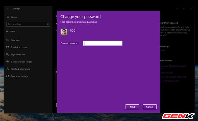 Dùng Windows 10 đã lâu, liệu bạn có biết cách thay đổi mật khẩu đăng nhập hay chưa? - Ảnh 9.