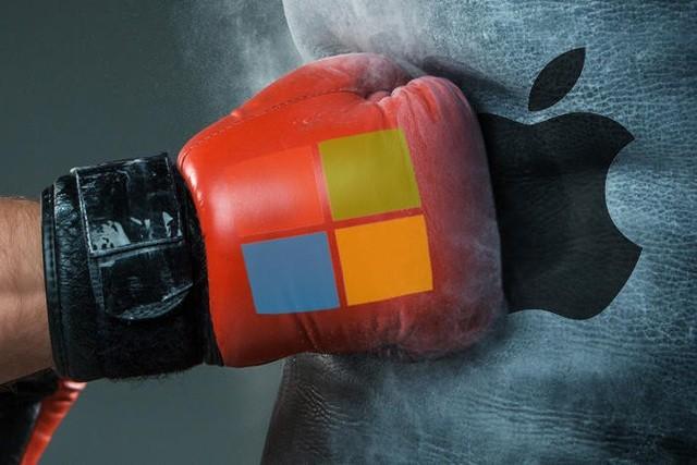 Đại chiến 2 nghìn tỷ USD: Microsoft khiến Tim Cook 'nổi điên' với Windows 11, Facebook và Google cũng tham chiến - Ảnh 1.