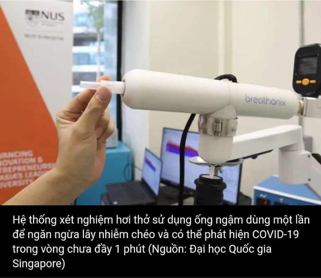 Vingroup trao tặng Bộ Y tế 30 máy xét nghiệm COVID-19 qua hơi thở đầu tiên trên thế giới và 2 triệu mẫu test, tổng trị giá 460 tỷ đồng - Ảnh 2.