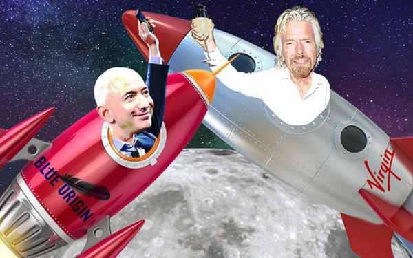 Vượt mặt Jeff Bezos, tỷ phú Richard Branson chính thức lên đường bay vào vũ trụ - Ảnh 2.