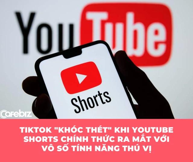 Youtube Shorts vừa ra mắt trên toàn cầu khiến TikTok 'khóc thét': Người dùng thoải mái tạo các video dài 60 giây, có 100.000 bài hát và vô số hiệu ứng để lựa chọn - Ảnh 1.