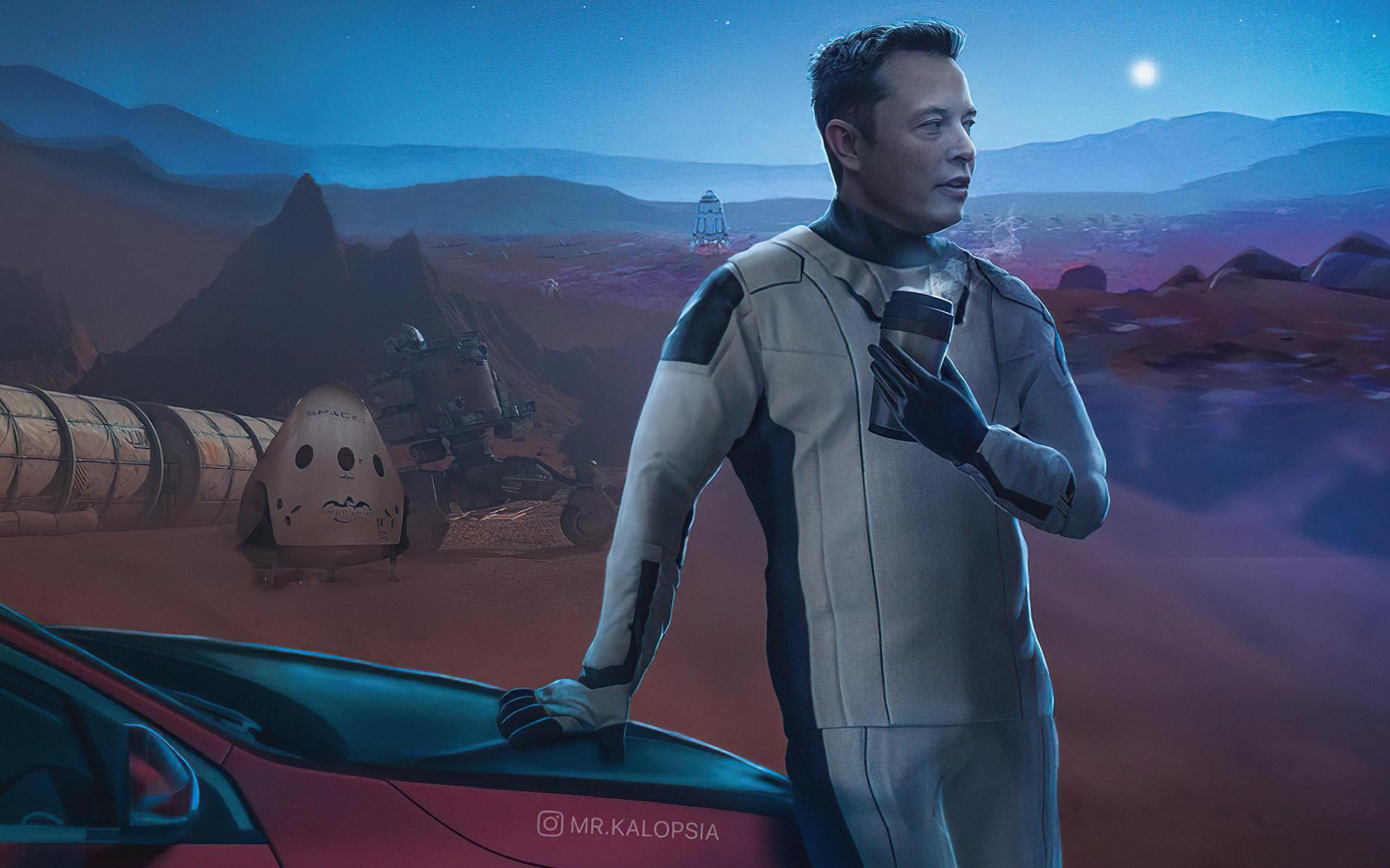 """Elon Musk cảnh báo về sự sụt giảm dân số trên Trái Đất, nói rằng """"Sao Hỏa cần con người"""""""