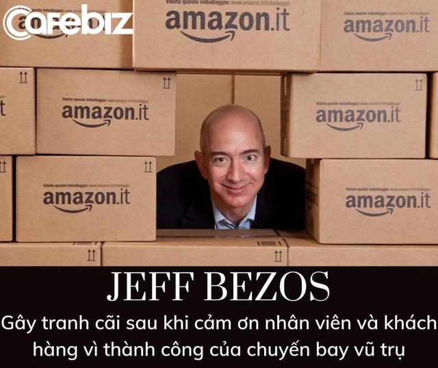 Bí mật đen tối đằng sau chuyến bay 5,5 tỷ USD vào vũ trụ nhờ nhân viên và khách hàng Amazon của Jeff Bezos - Ảnh 3.
