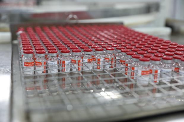 Việt Nam sản xuất lô vaccine Covid-19 Sputnik V đầu tiên - Ảnh 1.
