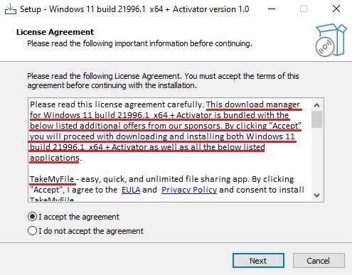 Tải Windows 11 lậu, người dùng được khuyến mãi thêm mã độc - Ảnh 3.