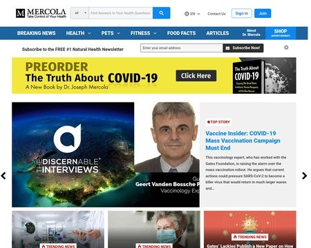 The New York Times vạch mặt ông hoàng tin giả trong đại dịch COVID-19: Là một bác sĩ viết sách bán chạy nhất The New York Times - Ảnh 4.