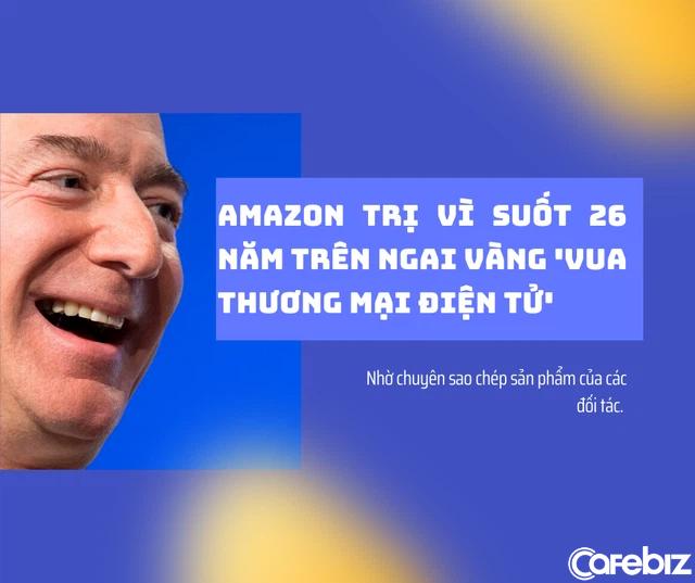 Cách Jeff Bezos giúp Amazon trị vì suốt 26 năm trên ngai vàng vua thương mại điện tử: Mãi mãi tinh thần khởi nghiệp, khô máu với chính đối tác miễn sao mình sống sót - Ảnh 2.