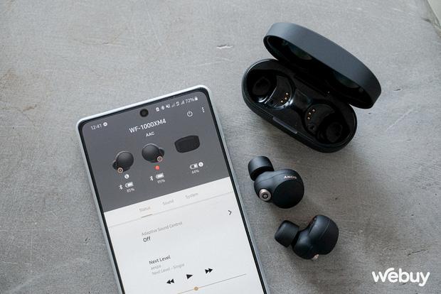 Đánh giá Sony WF-1000XM4: Chống ồn, chất âm và thiết kế cải tiến là vậy nhưng có xứng đáng với giá 6,5 triệu? - Ảnh 12.