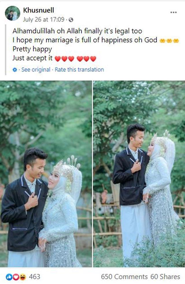 Indonesia: Đến phá đám cưới của bạn trai cũ, cô gái bất ngờ bị cưới luôn làm vợ nữa - Ảnh 6.