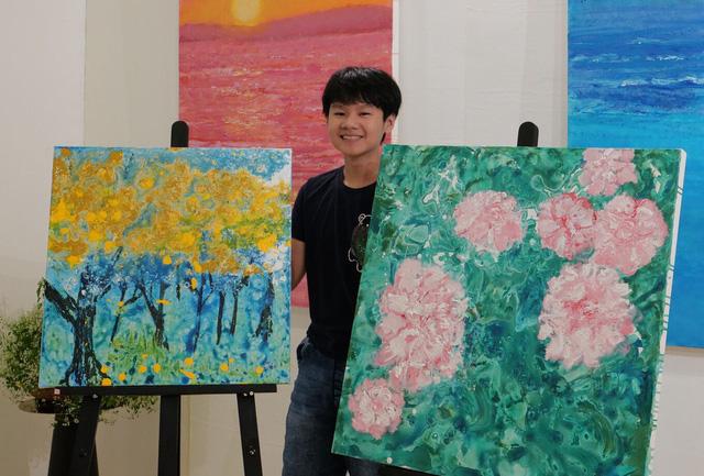 Đấu giá thành công bức tranh NFT đầu tiên trên sàn giao dịch Binance, hoạ sĩ Việt Nam 14 tuổi kiếm nửa tỷ đồng - Ảnh 3.