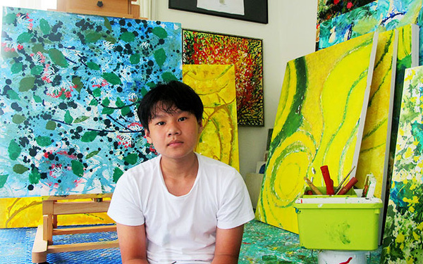 Đấu giá thành công bức tranh NFT đầu tiên trên sàn giao dịch Binance, hoạ sĩ Việt Nam 14 tuổi kiếm nửa tỷ đồng - Ảnh 1.