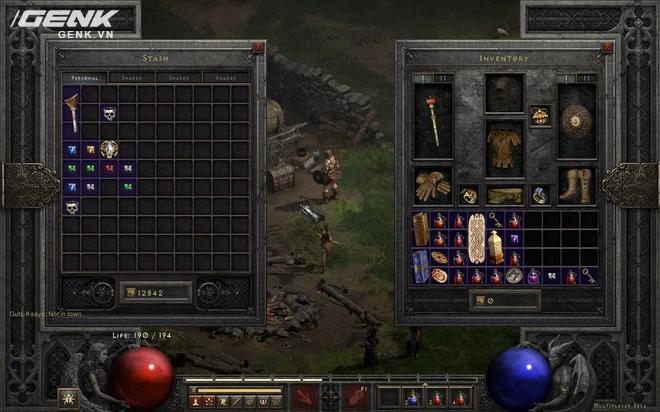 Cảm nhận Diablo II: Resurrected sau đợt chơi thử: viên ngọc sứt chưa được ghép tới mức hoàn thiện - Ảnh 6.