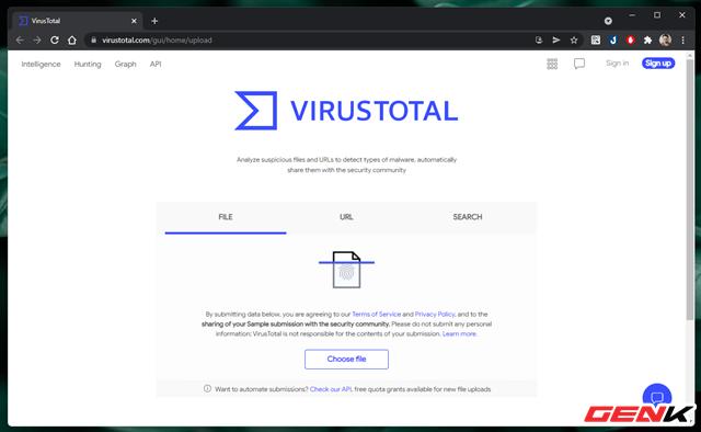 """Cách kiểm tra mức độ """"sạch của tập tin trước khi sử dụng trên máy tính Windows - Ảnh 5."""
