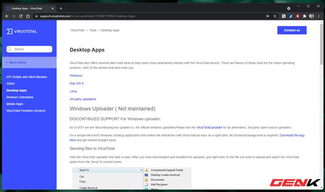 """Cách kiểm tra mức độ """"sạch của tập tin trước khi sử dụng trên máy tính Windows - Ảnh 8."""