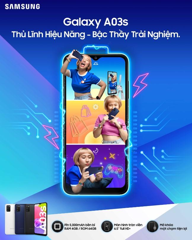 Samsung ra mắt smartphone giá rẻ mới: Helio P35, pin 5000mAh, giá từ 3.1 triệu đồng - Ảnh 1.