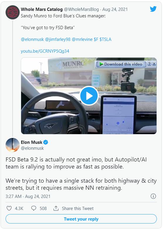 Là tính năng đặc biệt nhất trên xe Tesla, nhưng khả năng tự lái FSD lại bị Elon Musk thẳng thắn chê bai - Ảnh 1.