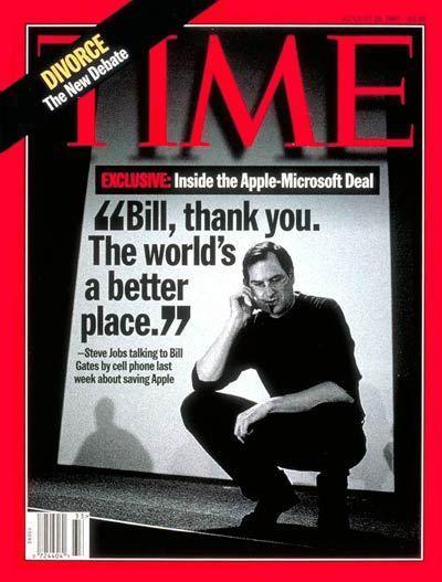 Giải mã lí do Microsoft cứu Apple khỏi phá sản - case study từng khiến cả thế giới ngỡ ngàng: Là lòng tốt với đối thủ hay nước cờ cao tay của Bill Gates? - Ảnh 2.