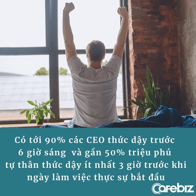 Người dậy sớm chưa chắc thành công nhưng không phải ngẫu nhiên 90% các CEO đều dậy trước 6h sáng, lý do của họ là gì? - Ảnh 2.