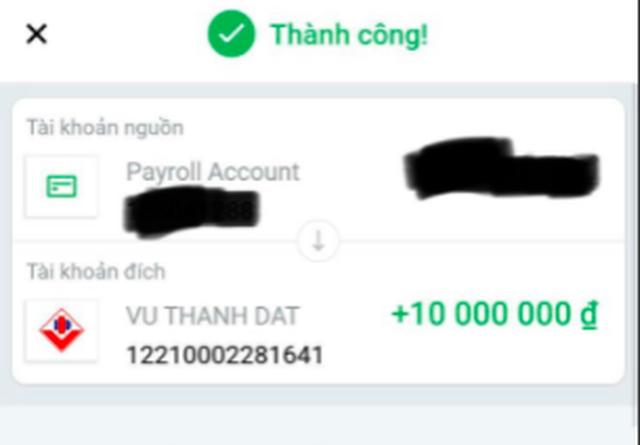 Lập tài khoản Zalo, đăng ký TK ngân hàng trùng tên người bị lợi dụng để lừa chuyển khoản với số tiền lớn - Ảnh 4.