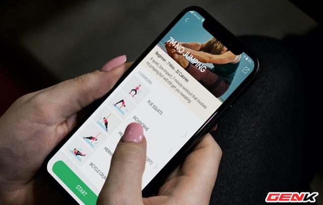 Biến smartphone thành hướng dẫn viên tập thể dục ngay tại nhà trong mùa giãn cách - Ảnh 1.