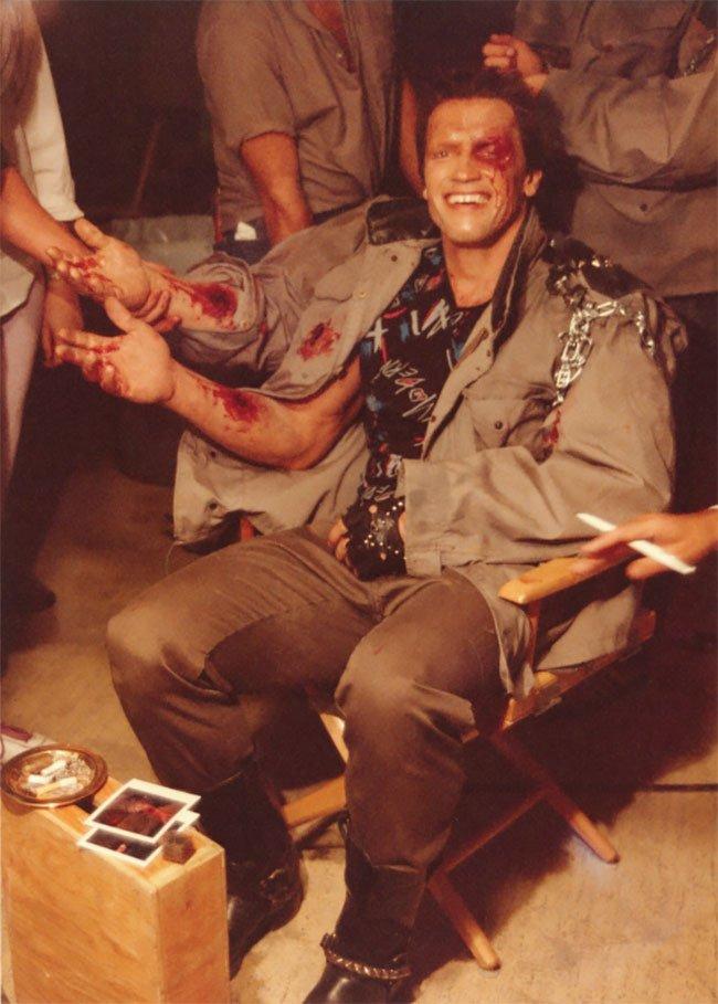 Ảnh hậu trường hiếm của một trong những bộ phim nổi tiếng nhất mọi thời đại: Kẻ Hủy Diệt (1984) - Ảnh 4.