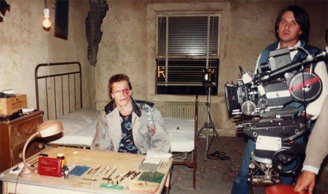 Ảnh hậu trường hiếm của một trong những bộ phim nổi tiếng nhất mọi thời đại: Kẻ Hủy Diệt (1984) - Ảnh 23.