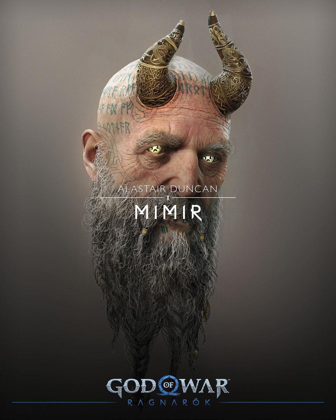 Mời bạn chiêm ngưỡng bụng bia của Thor trong God of War Ragnarök - Ảnh 9.