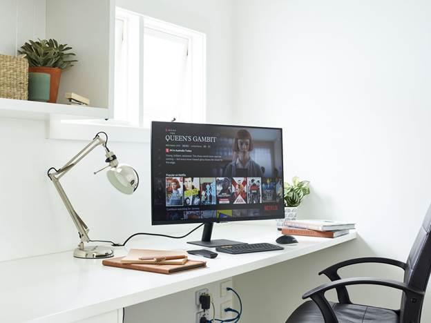Bộ sản phẩm giải trí, làm việc tại nhà toàn năng dành cho Sam-fan - Ảnh 3.