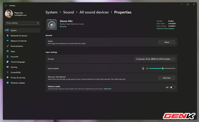 Những tinh chỉnh đơn giản giúp nâng cao trải nghiệm âm thanh trên máy tính Windows 10 - Ảnh 10.